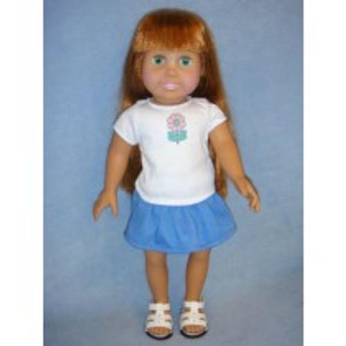 Doll T-Shirt & Skirt