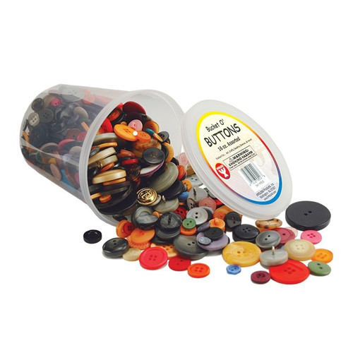 Bucket of Buttons-1 lb