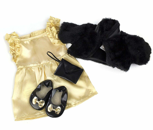 Glamour Doll Gift Set Including Dress and Shrug