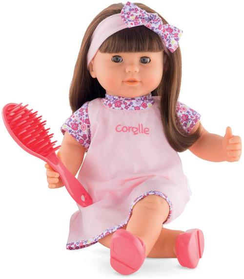Corolle Alice Baby Doll with Hair, 14""
