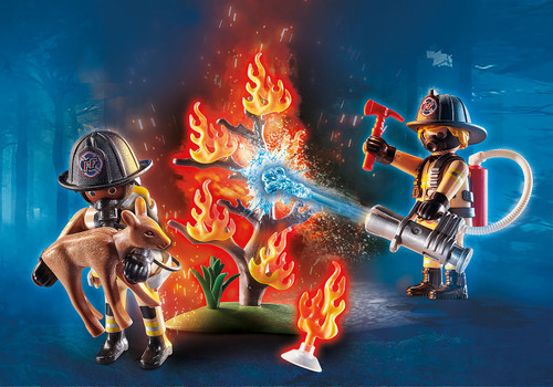 Playmobil Forest Fire Squad