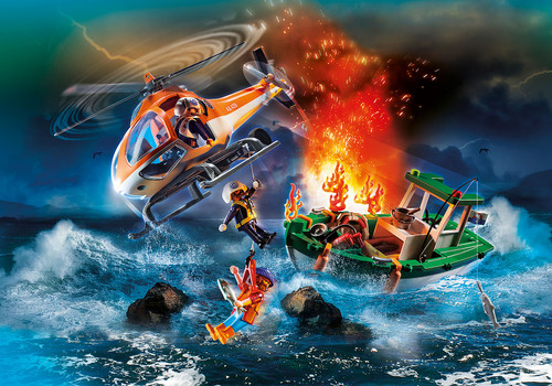 Playmobil Coastal Fire Mission