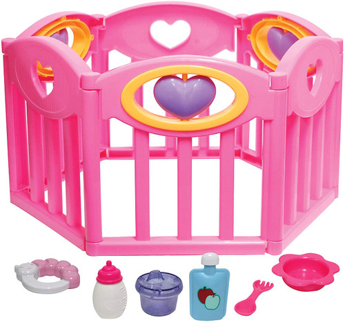 Deluxe Doll Play Pen and Accessories