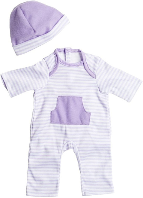 "Purple Romper for up to 16"" Dolls"