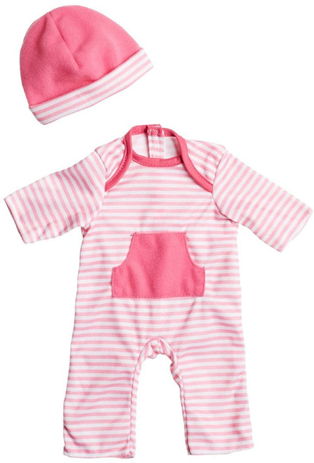 "Hot Pink Romper up to 16"" Dolls"