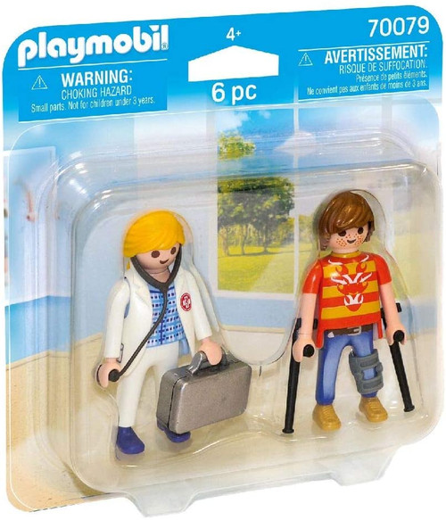 Playmobil Duo Pack for Doctors and Patients Colourful