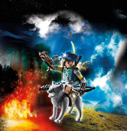 Playmobil Novelmore Crossbowman with Wolf