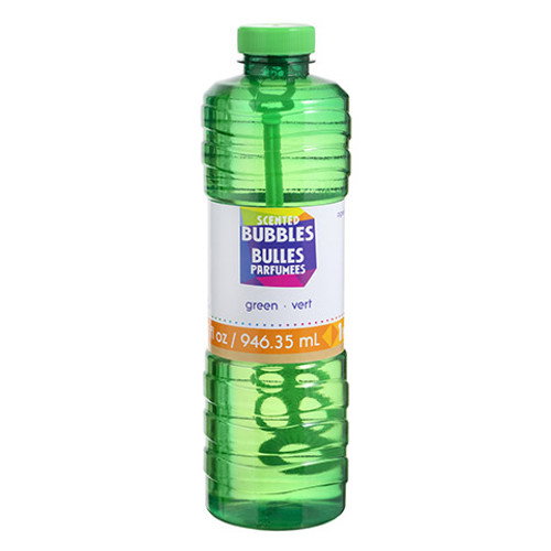 Scented Bubbles Green -32 ounces