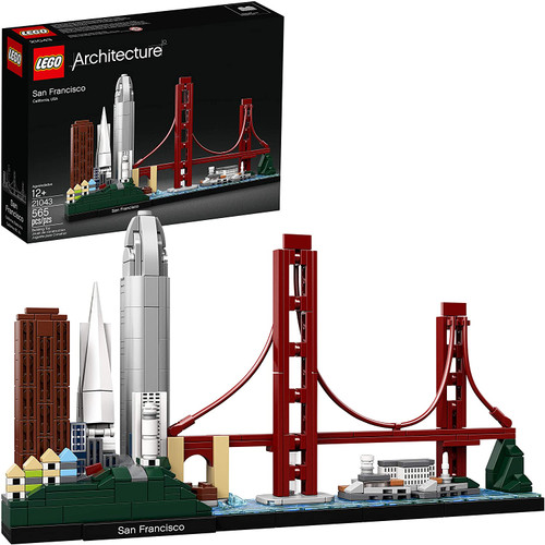 Lego Architecture Skyline San Francisco