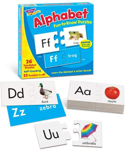 Fun to Know Alphabet Puzzles