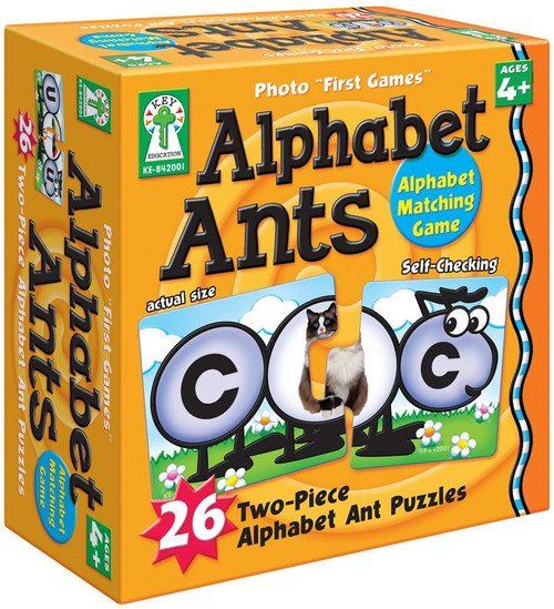 Alphabet Ants Educational Board Game