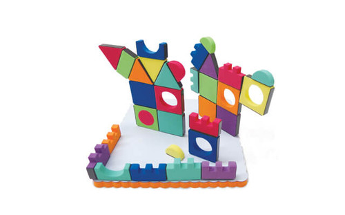 Magic Magnetic Shapes 54 Piece Set