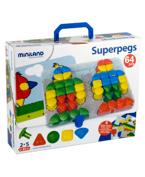Superpegs Pegset-64 Pieces