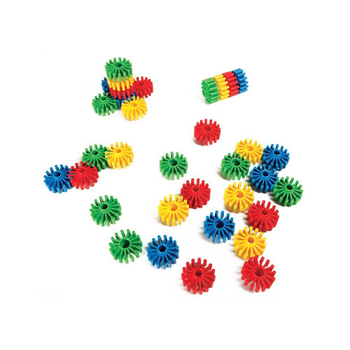 Conectable Wheels in a Bucket-40 Pieces