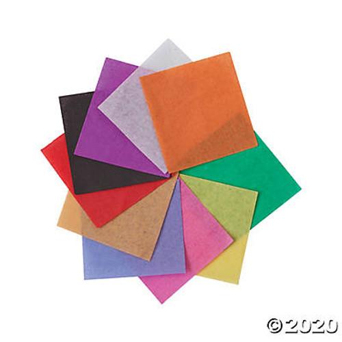 Mini Bright Tissue Paper Squares