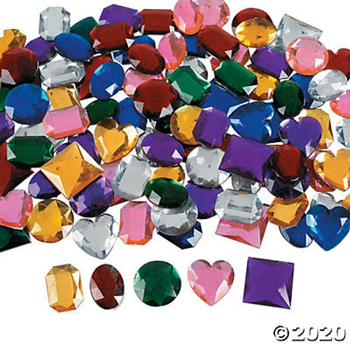 Acrylic Self-Adhesive Jumbo Jewels