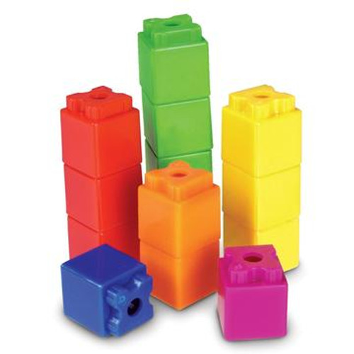 Stakube Set of 100-Like Unifix Cubes