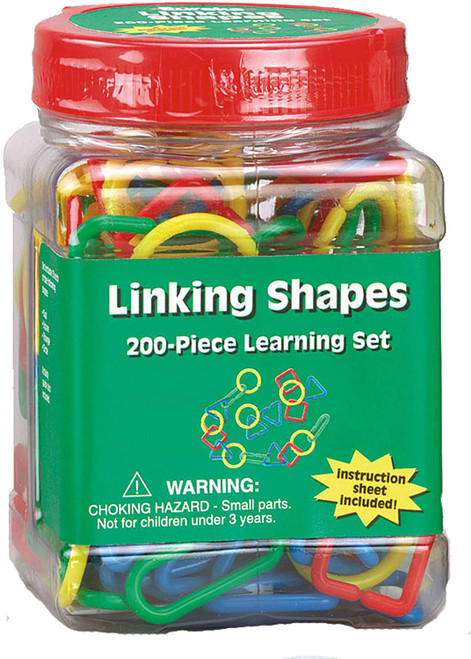 Tub of Linking Shapes