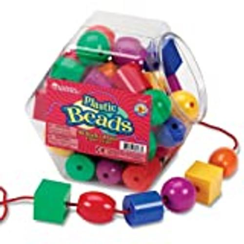 Plastic Lacing Beads-Set of 48