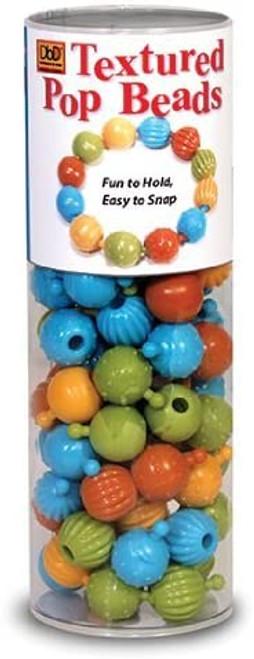 Textured Pop Beads-100 Pieces