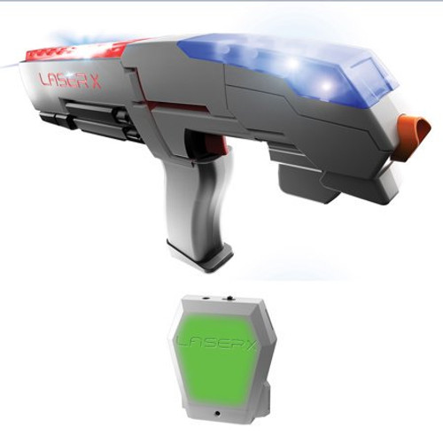 Laser X One Player Laser Tag Blaster