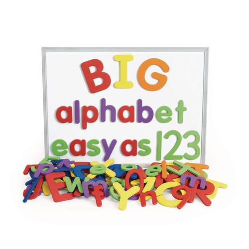 Giant Foam Magnetic Alphabet Letters & Numbers - 114 Pieces