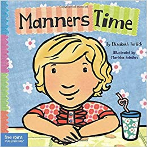 Manners Time Toddler Tools Board Book