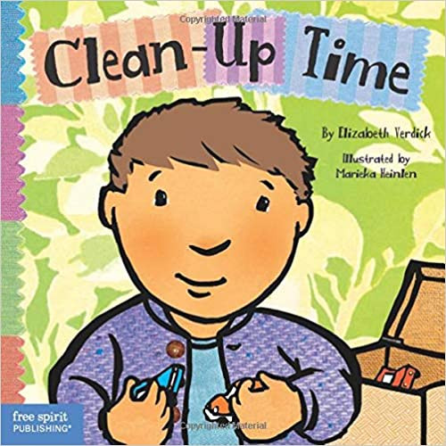Clean-Up Time Toddler Tools Board book