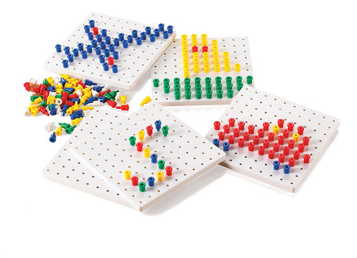 Pegs & Pegboards Set
