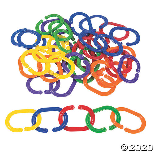 Giant Plastic Chain Links