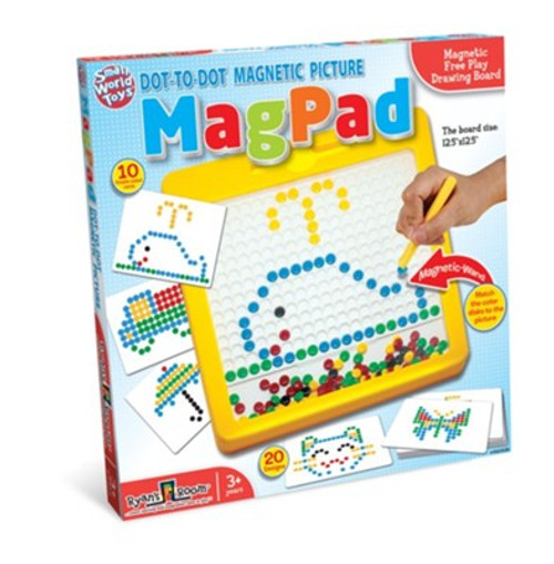 MagPad Dot-to-Dot Magnetic Picture Board