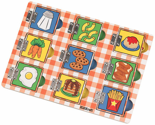 Hide and Seek Meal Time Puzzle