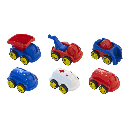 Job Vehicles-6 Pieces