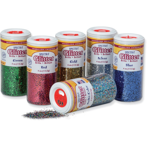 Glitter Sparkling Crystals 16 Ounces Single Color