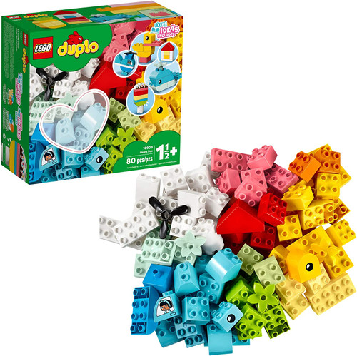 Duplo Classic Heart Box-80 Pieces