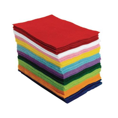 Felt Sheets Single Color-9x12