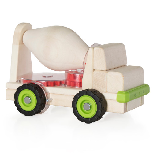 Block Science – Big Cement Mixer Truck