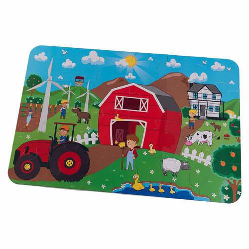 Farm Floor Puzzle
