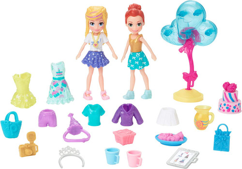 Polly Pocket Party Pack 2 Doll Fashion