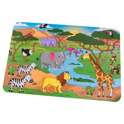 Safari Floor Puzzle
