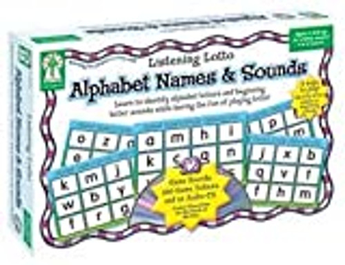 Listening Lotto: Alphabet Names & Sounds
