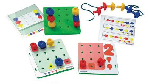 Peg Activity Stacking Set in Bucket