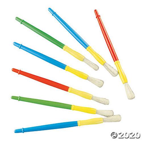 Plastic Chubby Paintbrushes