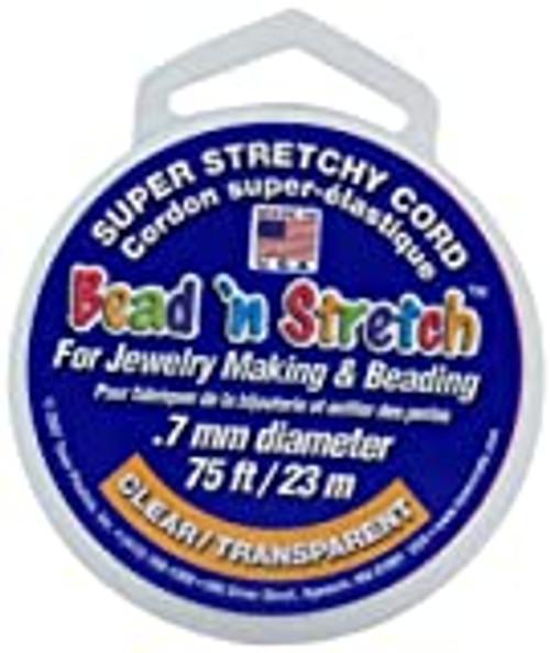 Bead 'n Stretch Cord Clear