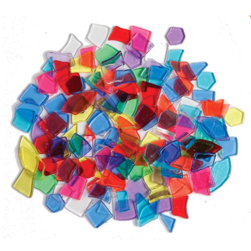 Broken Shapes Transparent Mosaics