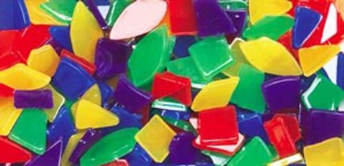 Bright Colors Marbleized Plastic Mosaics