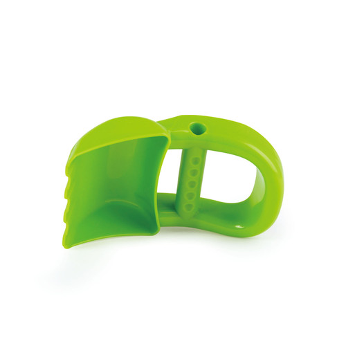 Hand Digger Green for Sand Play