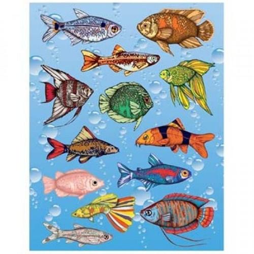 Fish Stickers Classpack