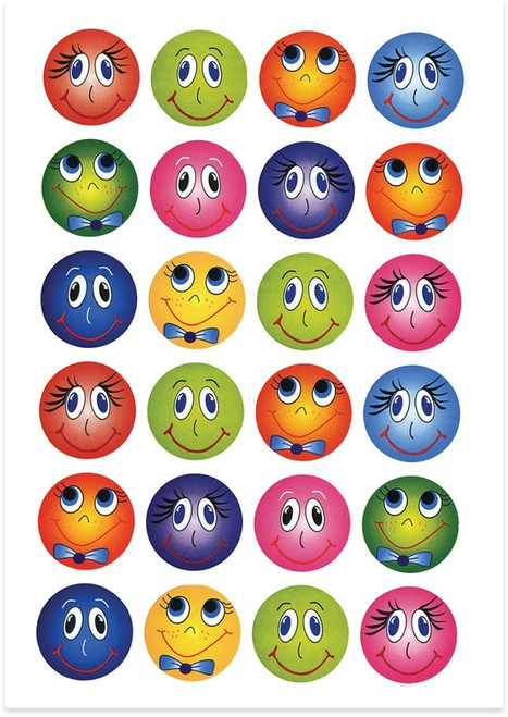 Funny Face Stickers Classpack