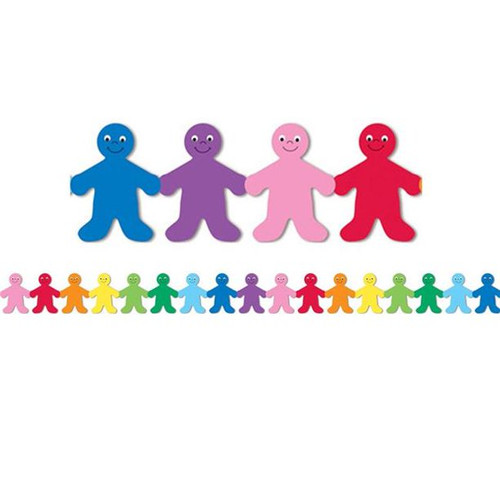 Rainbow People Border